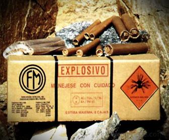 Tipos de Explosivos Comercializados por Hispadomex