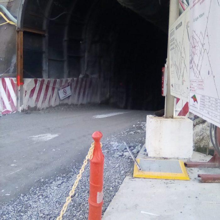 Entrada túnel Subterráneo